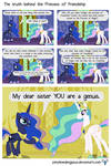 The truth behind the Princess of Friendship