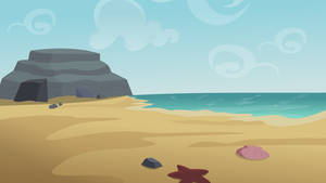 MLP-FIM: Beach Background