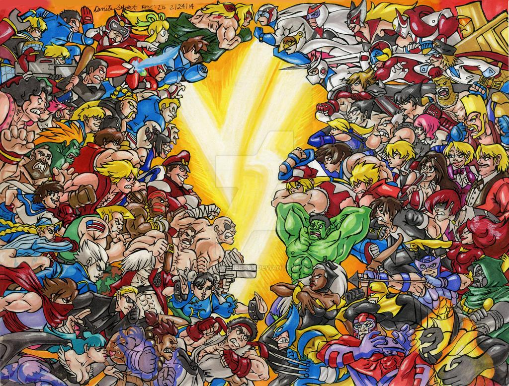 Capcom Vs.... by BetaoftheBass