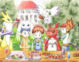 Tamers - Party Time by shongsalomon