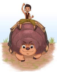 Nong Boun Riding Tuk Tuk