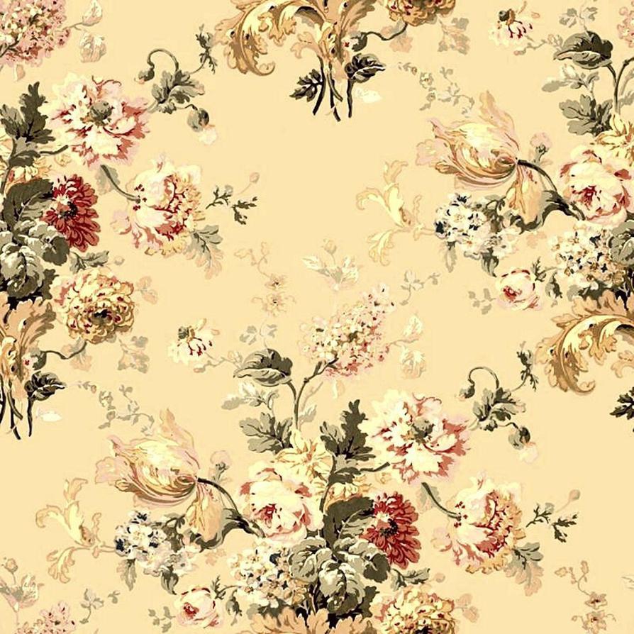 Floral vintage background - Vintage Floral Js Background By Alecwolfe