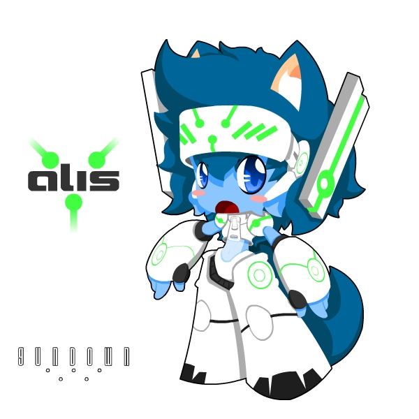 Gundown - Alis concept by Xeno-striker