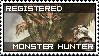 monster hunter stamp by Xeno-striker