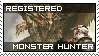 monster hunter stamp by Xeno-striker