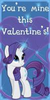 Rarity Valentine Card