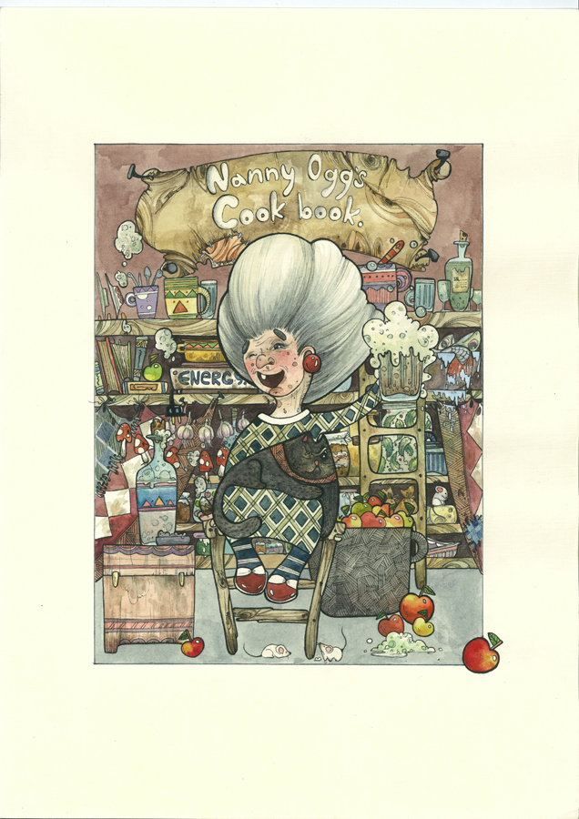 Nanny ogg by freefallofafeather on deviantart for Storybook nanny