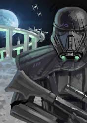 Fanart Friday #8 - Star Wars Deathtrooper by nehsan-darke