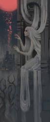 Fanart Friday #12- Tangled In Blood by nehsan-darke