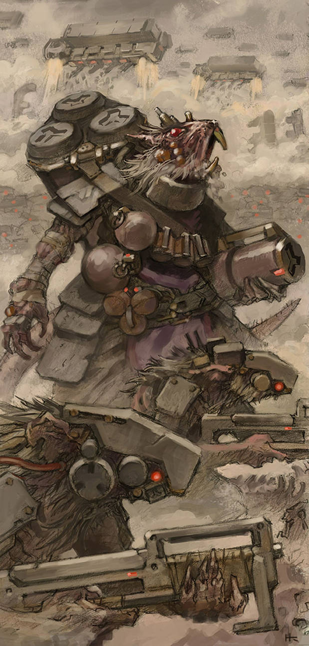 Fanart Friday # 18 - WH40K - Star Skaven