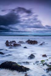 Sunset at Killiney by Wanowicz