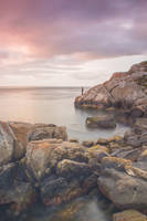 Morning walk on the rocks by Wanowicz