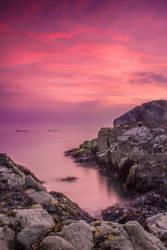 Pink sunrise by Wanowicz