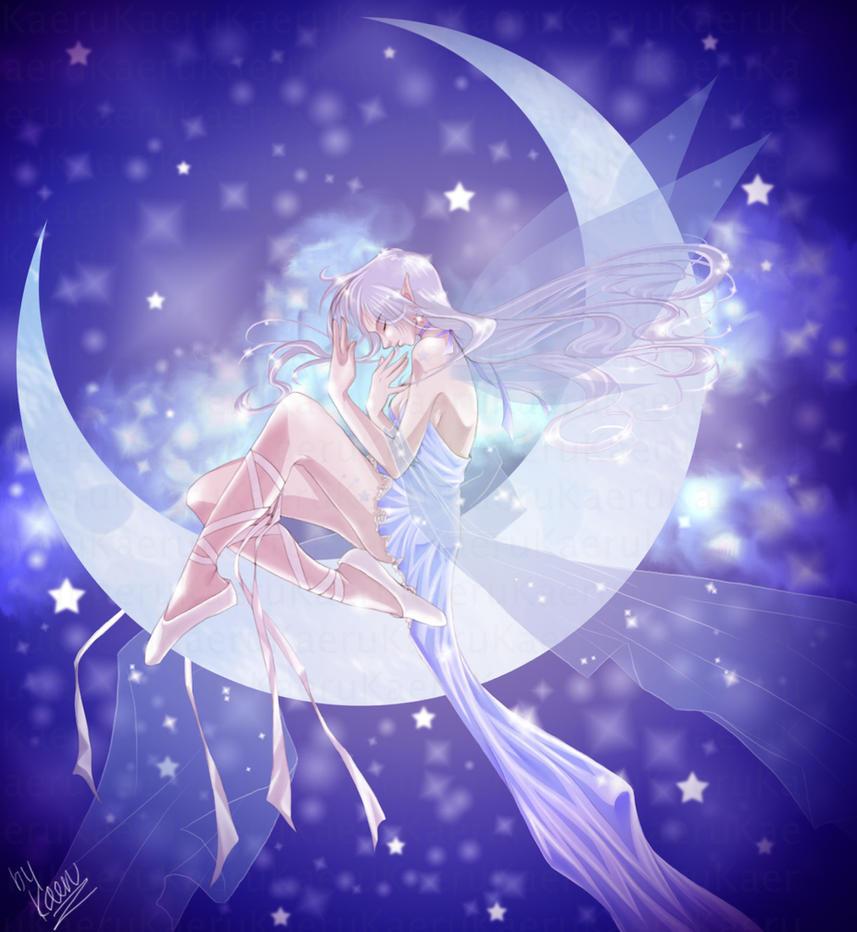 Moon Fairy by LadyKaeru