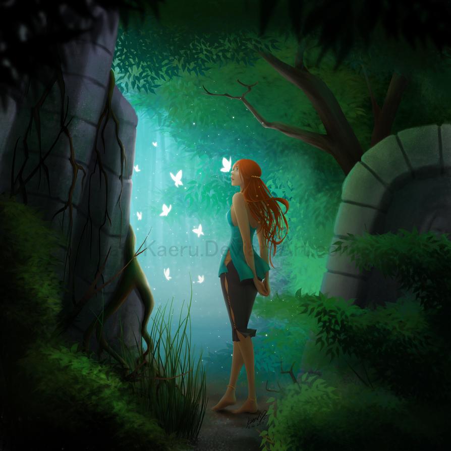 The Ruins by LadyKaeru
