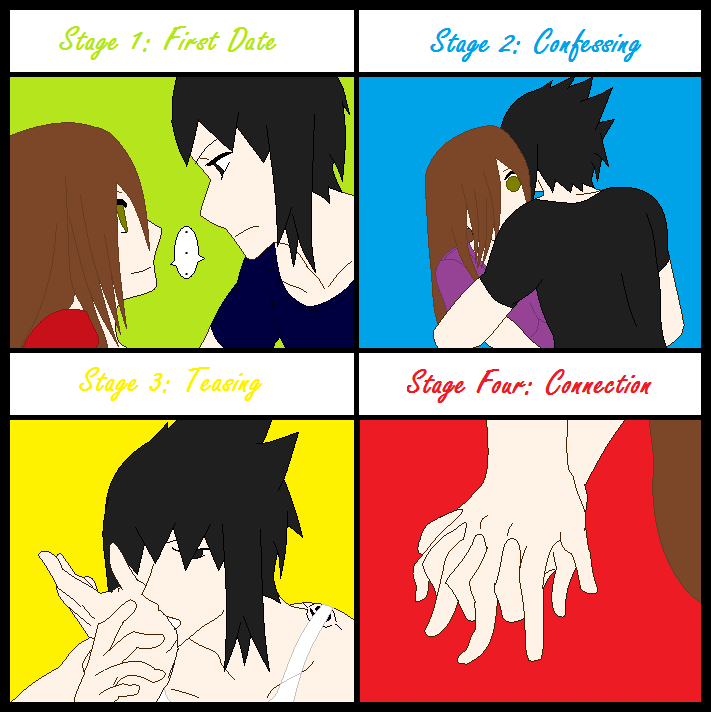 Four Stages of a Relationship by sasuke12234 on DeviantArt