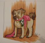 Fleshport Art Contest: Pugly by Skullmask04