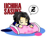 Sasuke and the Pink Pillow