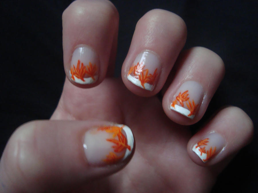 Fall Nails by Randomrandi on DeviantArt