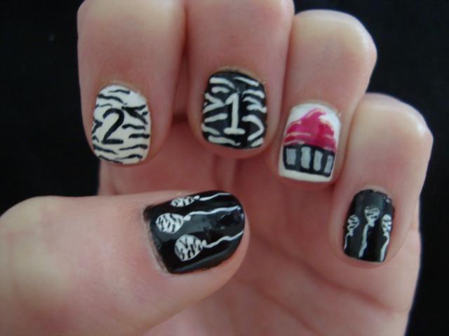 21st Birthday Nails by Randomrandi on DeviantArt