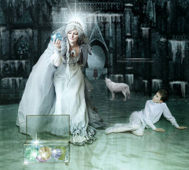 Snow Queen by Megan-Arts