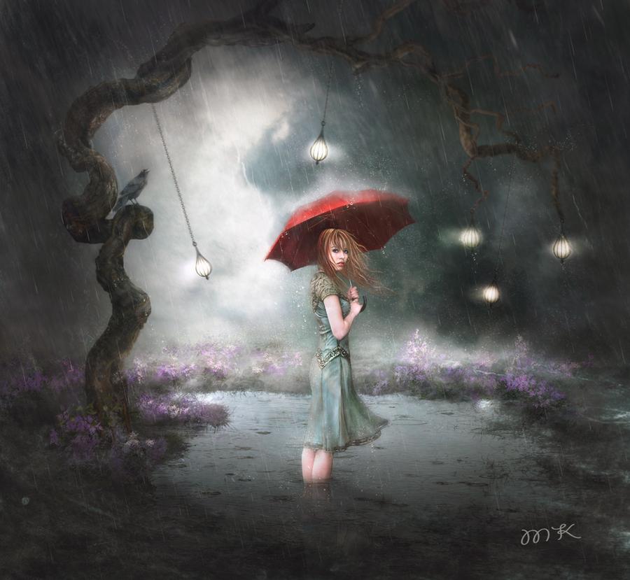 Waiting.. by Megan-Arts