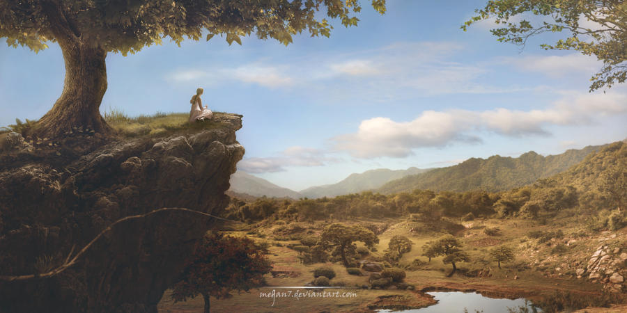Beyond the Horizon by Megan-Arts