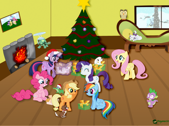 Xmas Picture by DragonsCz