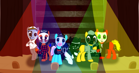 Hollywood Undead for Fasty by DragonsCz
