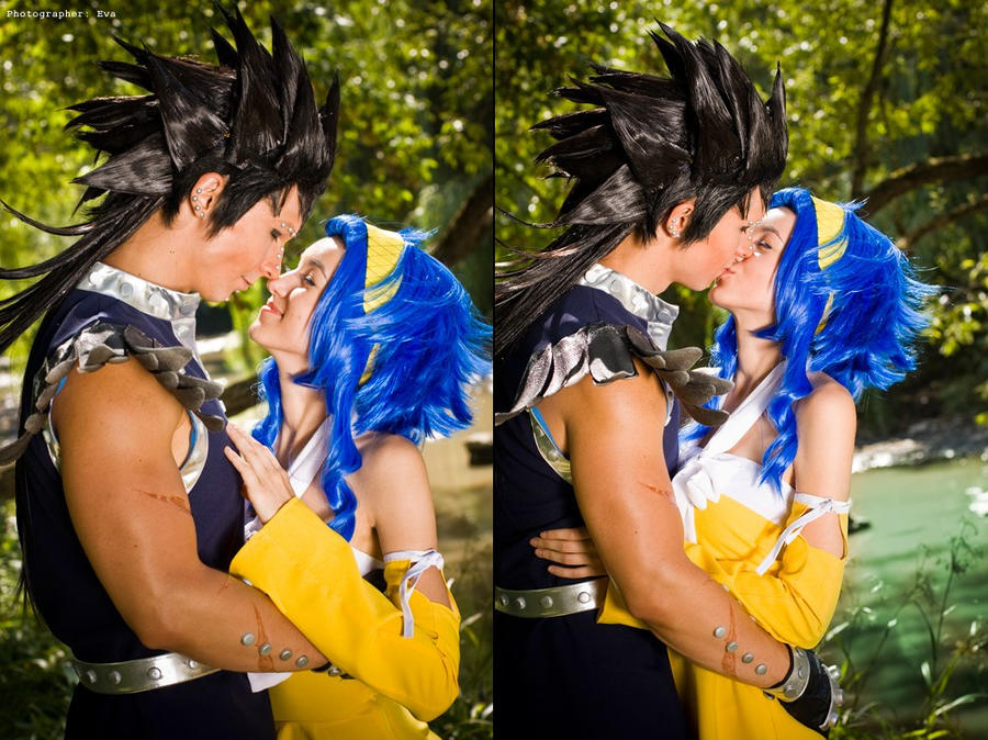 Levy McGarden and Gajeel RedFox Love by Hasadosh on DeviantArt