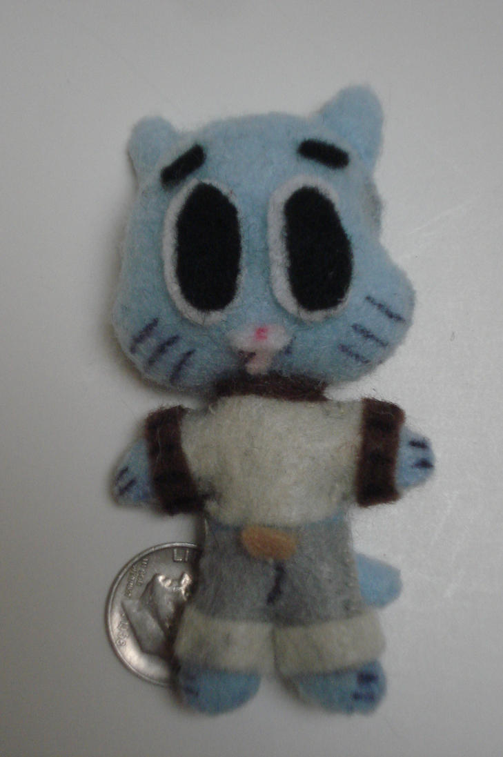 Gumball plush by ArtNinja101