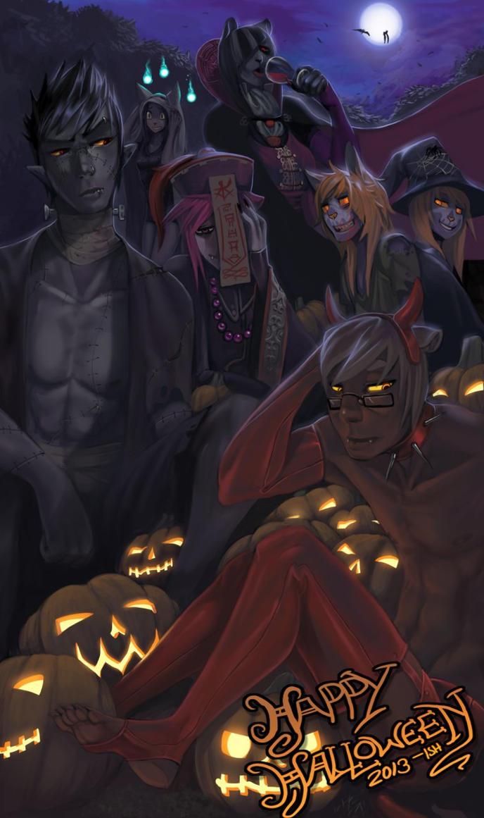 Happy Halloween by Ishton