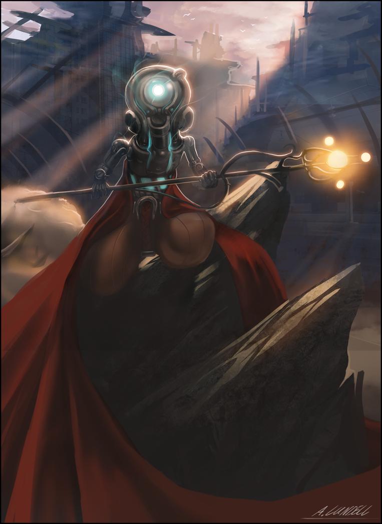 Atht, Keeper of Mirrodin by Ishton
