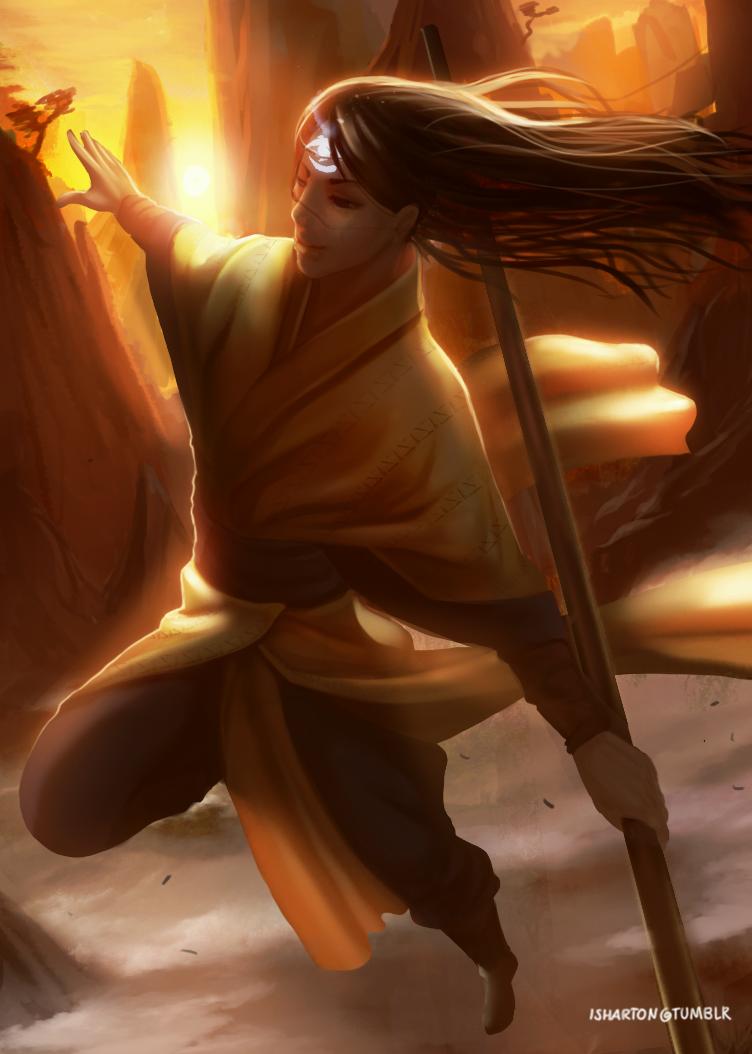 Narset The Enlightened Commander by Ishton