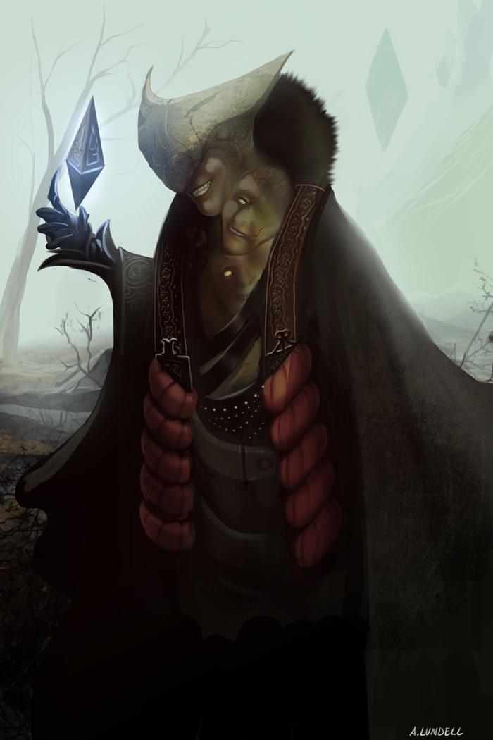 Dreich, Faces of Zendikar by Ishton