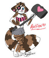 Anthro Cat Adopt Auction (CLOSED) by Mauiicow