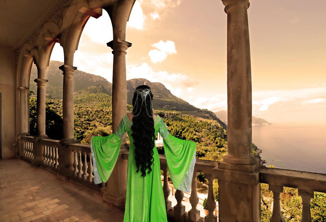 Presenting Queen Arwen by FinalFantasyCosplays