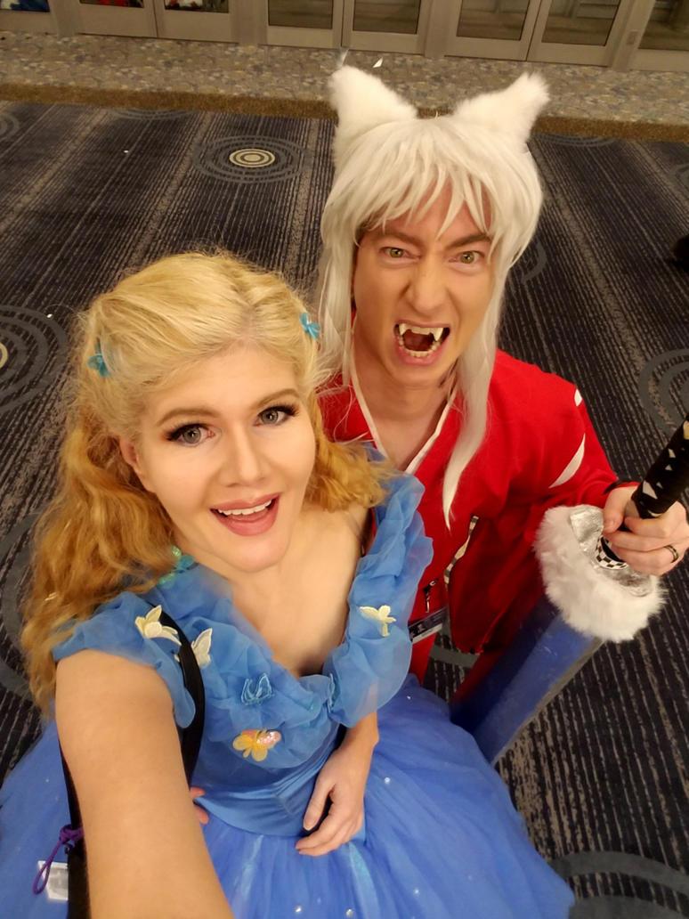 Cinderella meet Inuyasha by FinalFantasyCosplays