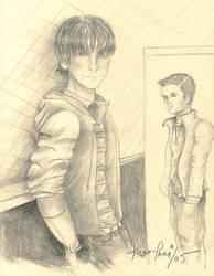 Supernatural, Sam and Dean by Kaze-Chan