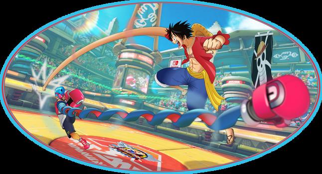 Luffy vs Spring Man