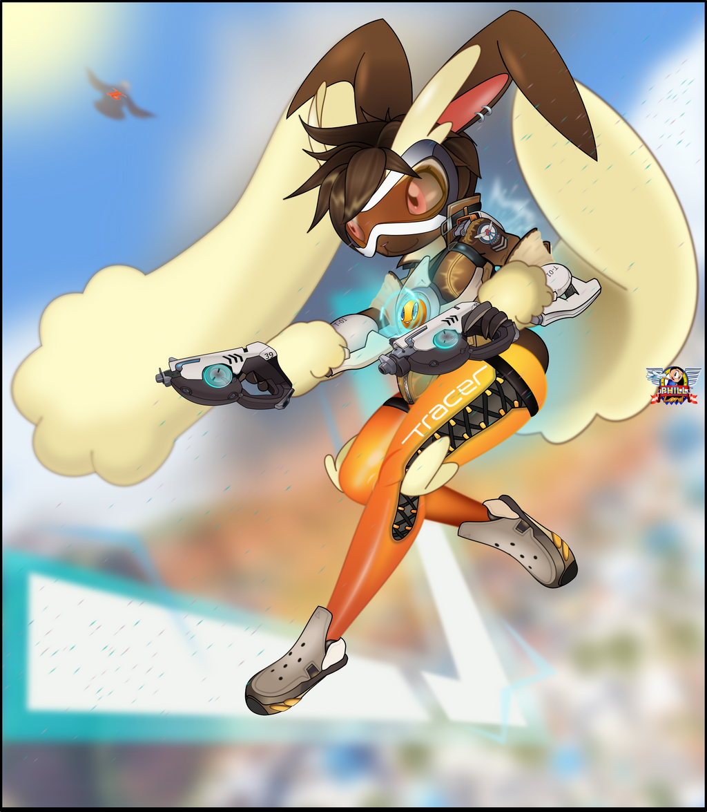 Tracer Lopunny Rotom By Philllord On Deviantart