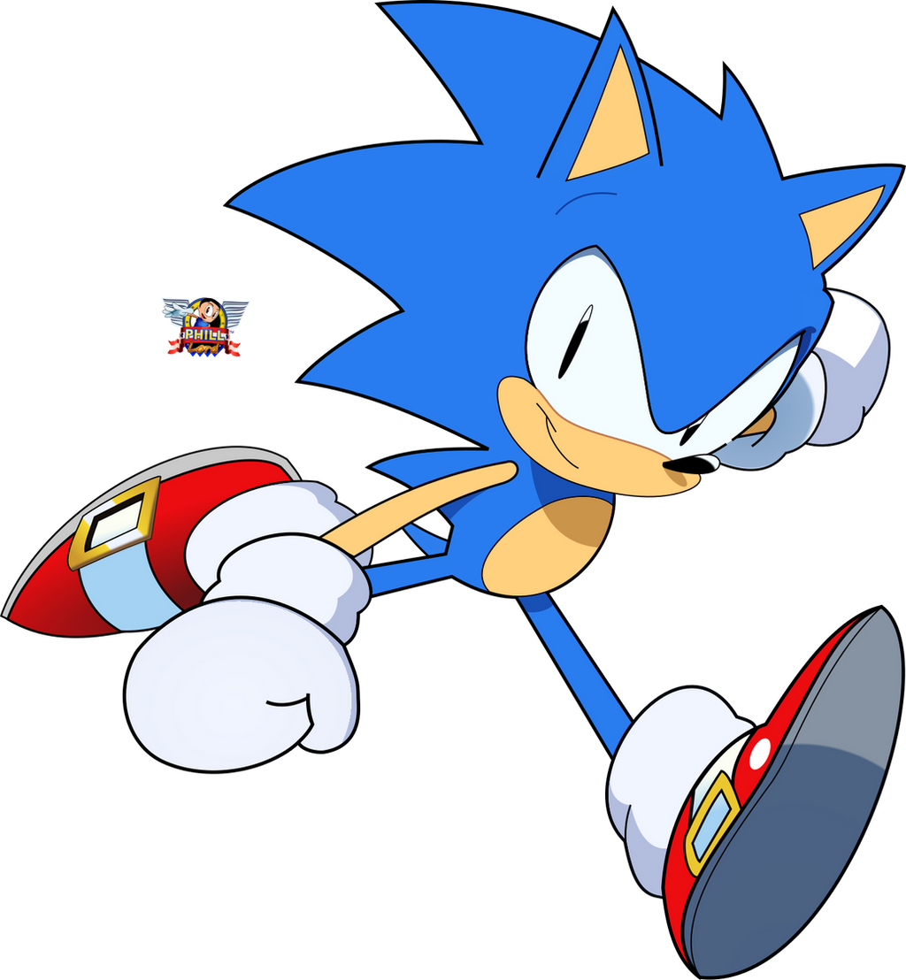 Sonic The Hedgehog Drawing By PhillLord On DeviantArt