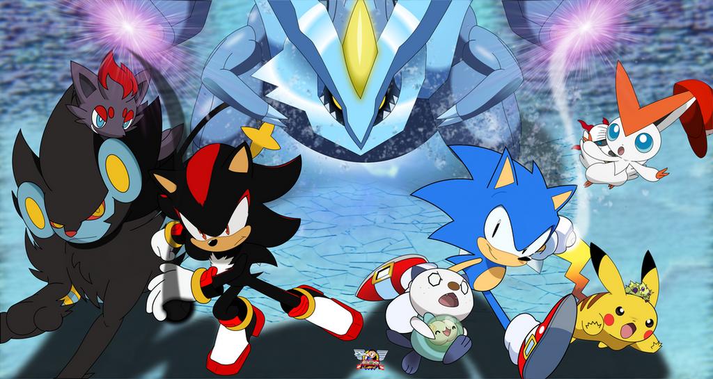 Sonic x pokemon by philllord on deviantart - Shadow the hedgehog pokemon ...
