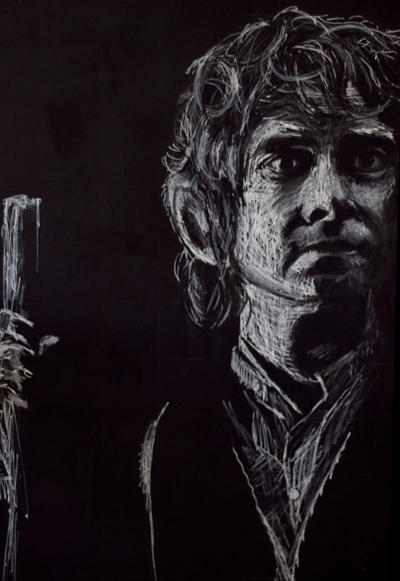 Bilbo (Martin Freeman) by HedgehogMolly