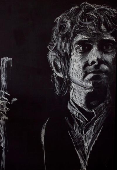 Bilbo (Martin Freeman) by HedgehogMolly