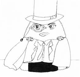 Tiny Onigiri - Kaitou Kid by ingetminne