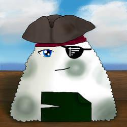 Tiny Onigiri - Pirate by ingetminne