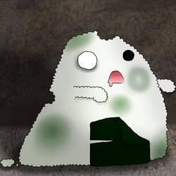 Tiny Onigiri - Zombie by ingetminne