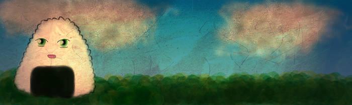 Onigiri banner by ingetminne