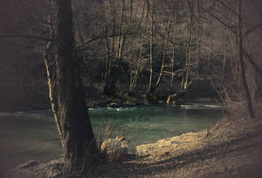 Gradac river waiting for spring by VesnaRa014